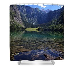 Obersee Shower Curtain