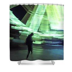 Shower Curtain featuring the photograph Oblivion by Alex Lapidus