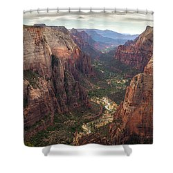 Observation Point - Zion Shower Curtain