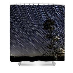 Observation Shower Curtain
