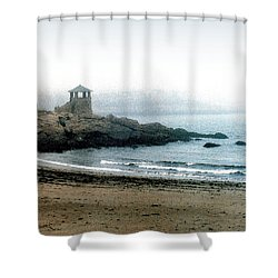 Observatory Point Shower Curtain by Paul Sachtleben