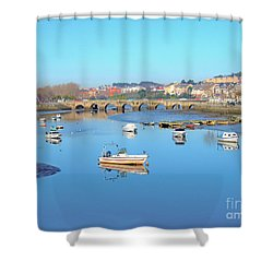 O'burgo River Shower Curtain