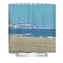 Oc Inlet Color Shower Curtain by William Bartholomew