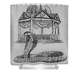 Ocala Cobra Shower Curtain