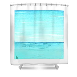 Ocean 1 Shower Curtain