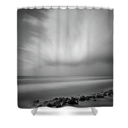 Ocean And Clouds Shower Curtain