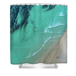 Ocean Art Shower Curtain