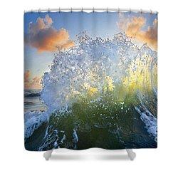 Ocean Bouquet  -  Part 3 Of 3 Shower Curtain
