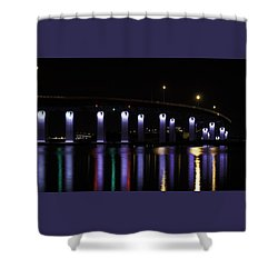 Ocean City - 9th Street Bridge Shower Curtain