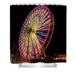 Ocean City Ferris Wheel1 Shower Curtain