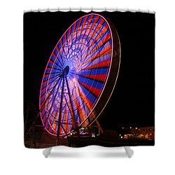 Ocean City Ferris Wheel4 Shower Curtain