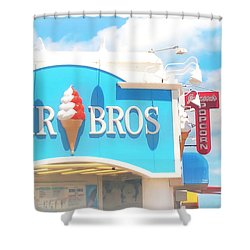 Ocean City Nj Kohr Bros Johnson Popcorn Shower Curtain