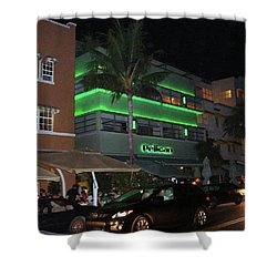 Ocean Drive Miami Beach Shower Curtain