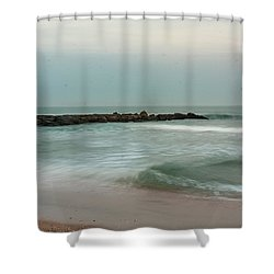 Ocean Flow 2 Shower Curtain