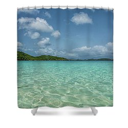 Ocean For Miles Shower Curtain
