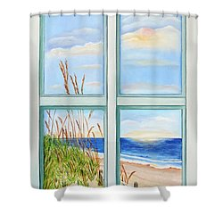 Ocean Front View Shower Curtain