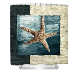 Ocean Gem Shower Curtain by Lourry Legarde