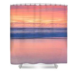 Ocean Glow Shower Curtain by Az Jackson