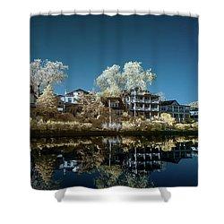 Ocean Grove Nj Shower Curtain by Paul Seymour