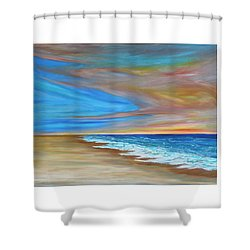 Ocean  Journey  Shower Curtain