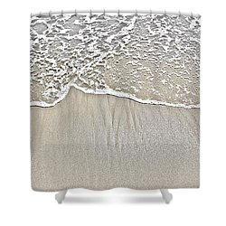 Ocean Lace Shower Curtain by Colleen Kammerer