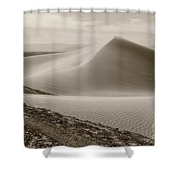 Shower Curtain featuring the photograph Ocean Of Sand by Suzanne Oesterling