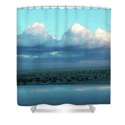 Ocean Of Sky Shower Curtain