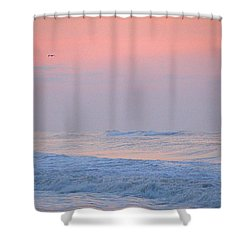 Ocean Peace Shower Curtain by  Newwwman