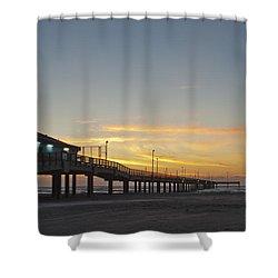 Ocean Pier Shower Curtain