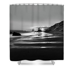 Ocean Rhythm Shower Curtain