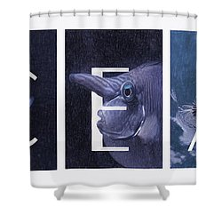 Shower Curtain featuring the photograph Ocean by Robin-Lee Vieira