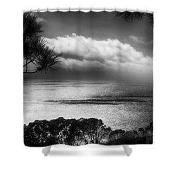 Shower Curtain featuring the photograph Ocean Scene by Joseph Hollingsworth