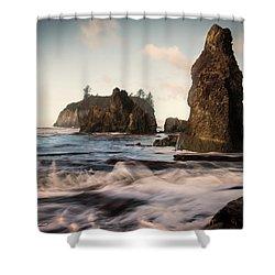 Ocean Spire Signature Series Shower Curtain