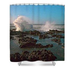 Ocean Spray Shower Curtain by Billie-Jo Miller