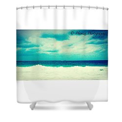 Ocean Tides Or Waves Shower Curtain
