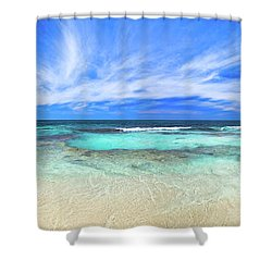 Ocean Tranquility, Yanchep Shower Curtain by Dave Catley