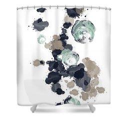 Ocean Vibes I Shower Curtain