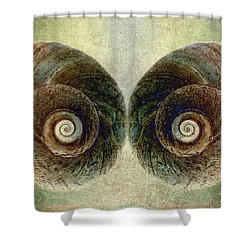 Ocean View Shower Curtain by WB Johnston