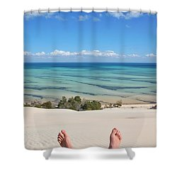 Ocean Views Shower Curtain