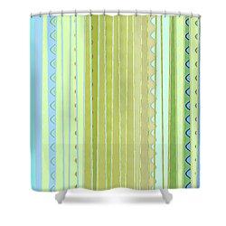 Oceana Stripes Shower Curtain