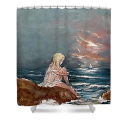 Oceanic Relaxation Shower Curtain