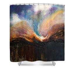 Oceans Apart Shower Curtain