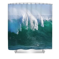 Ocean's Roar Shower Curtain