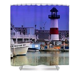Oceanside Light Shower Curtain