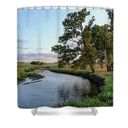 Ocheyedan Evening Shower Curtain