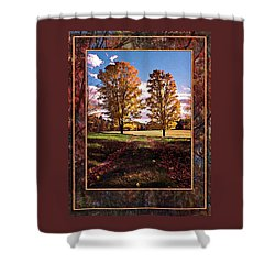 October Afternoon Beauty Shower Curtain