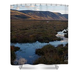 October Evening - Glen Muick Shower Curtain