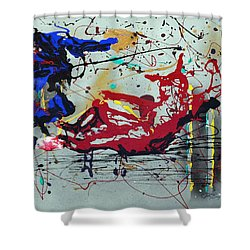 October Fever Shower Curtain by J R Seymour