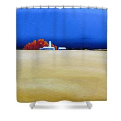 October Fields Shower Curtain