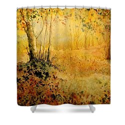 October Glow Shower Curtain